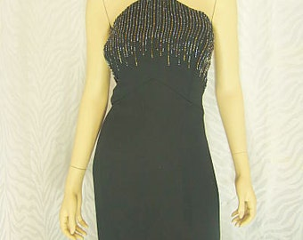 Michaelangelo Black Evening Gown