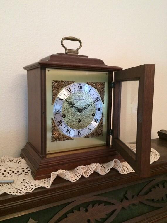 vintage seth thomas legacy clock mantle clock key and