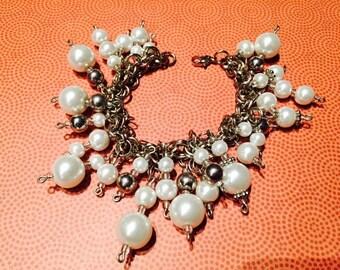 Sparkling Pearl Bracelet