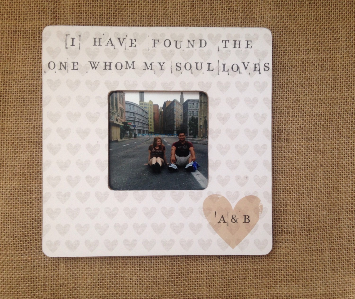 Love Frame I Have Found The One Whom My Soul By