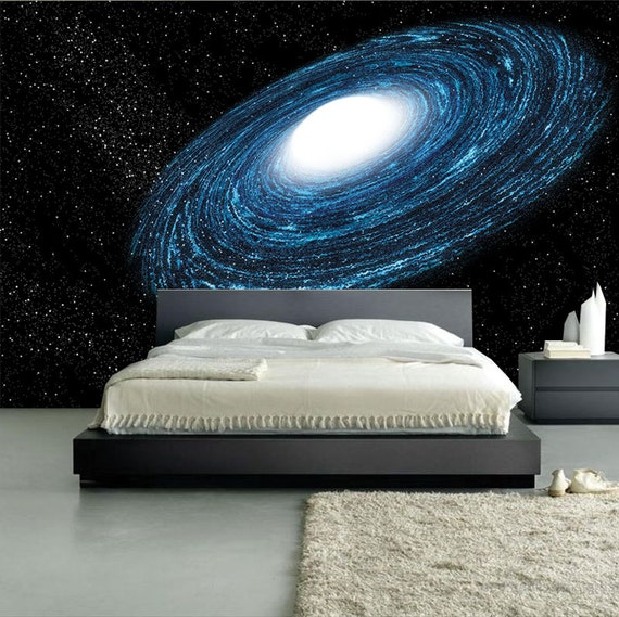 Amazing spiral galaxy mural self adhesive wall by for Amazing wall coverings