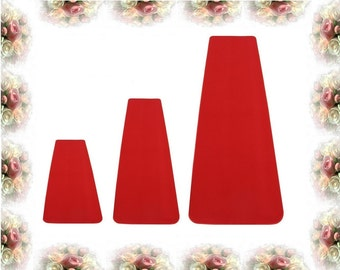 RED CARPET - 3' x Length (Choose Size Below) Indoor/Outdoor Wedding, Event, Party Aisle RUNNER Durably soft!