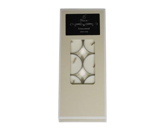 10 Soy Tealight Candles - Unscented