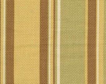 Stripeway Mango, By Tommy Bahama, Fabric By The Yard