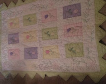 Quilt for Crib or Toddler Bed