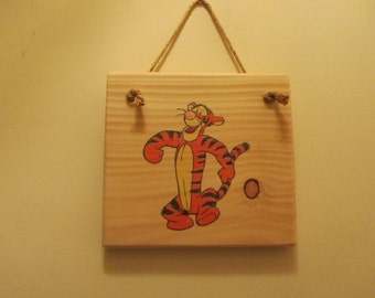 Winnie-the-Pooh Character Sign - Tigger
