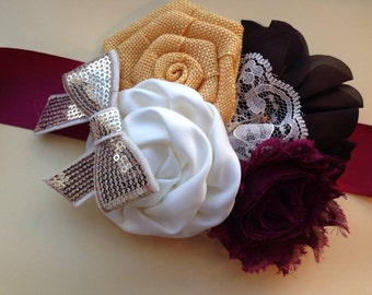 Fall Maternity Sash