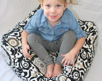Large Kids Floor Pillow Cushion Pouf - STUFFING INCLUDED - Many Colors and Sizes Available