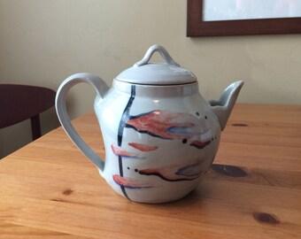 Pink Cloud Teapot