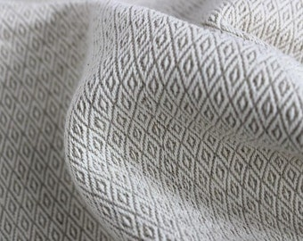 5m x fabric cotton linen furnishing parallelogram