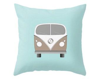 Volkswagen pillow cover VW pillow Volkswagen cushion Nursery pillow nursery decorative pillow nursery throw pillow Volkswagen throw pillow