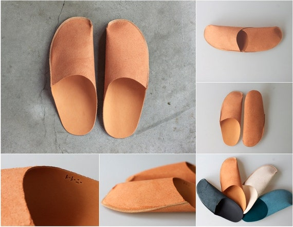 Mens Shoe Slippers Mens Leather Slippers For Men
