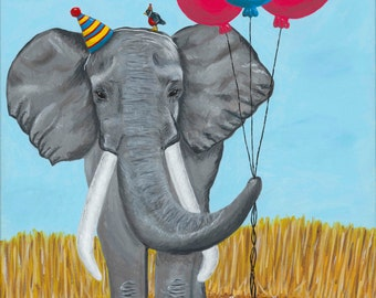 Party Time giclee art print 11x14