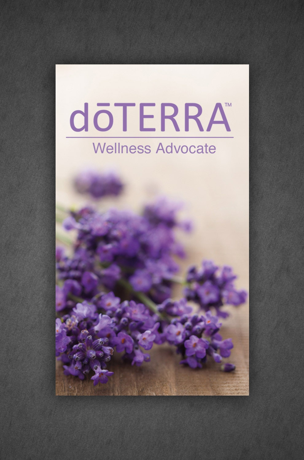Digital doTerra Business card Design Full Color by