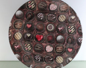 Chocolate Candy Decorative Plate