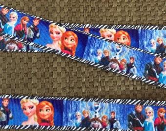 "7/8"" Frozen Ribbon...Elsa ribbon"
