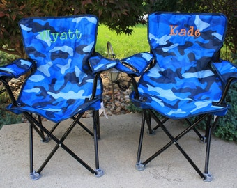 Personalized Toddler Boy Folding/Camping Chair