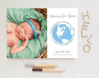 You Are Ours Birth Announcement