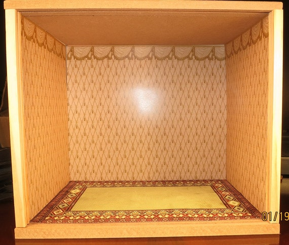 ROOMBOX Dollhouse Miniature Display Room Box New