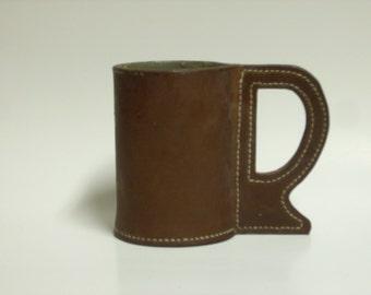 Leather Mug/Jack - Shipping Included