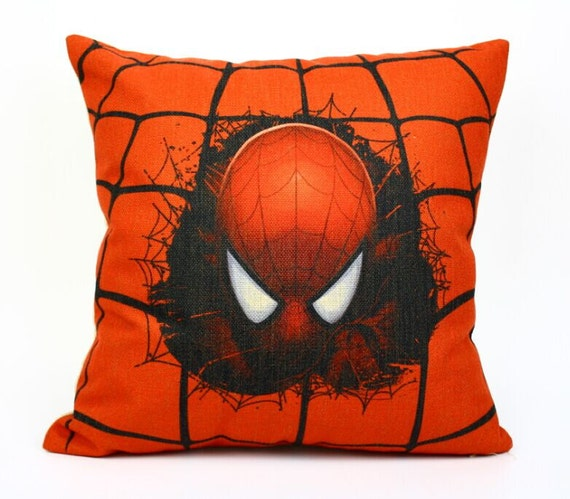 Spiderman pillow cover Halloween Justice League Avengers by acsoul