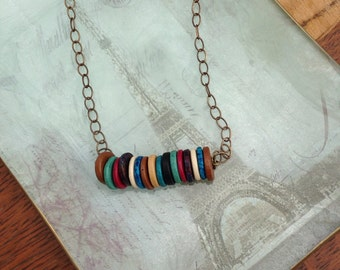 Greek ceramic beads with a modern flair