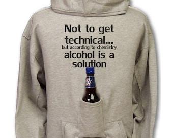 Not To Get Technical... Beer Hoodie