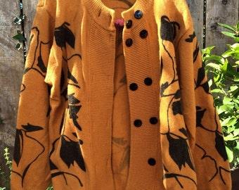 Eastern ocher sweater