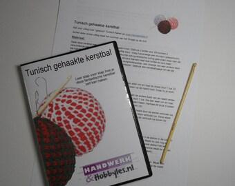 Education Kit Tunisch crochet Christmas ornament