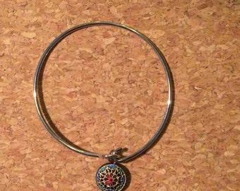 Bracelet- Vintage Pastic Charm Bracelet