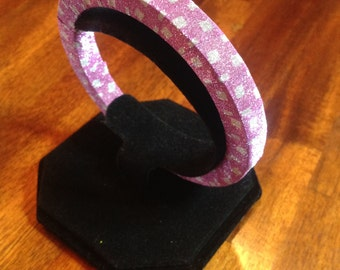 Fun, Shiny And Bright Pink Bracelet