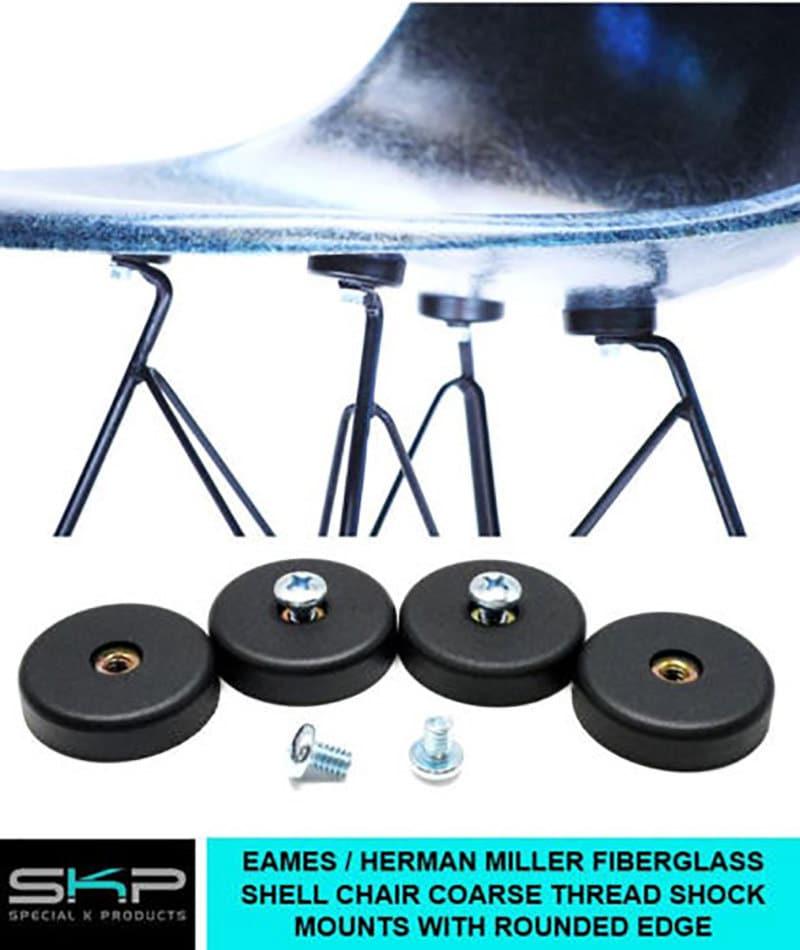 Shock mounts for eames herman miller fiberglass shell chair - Eames chair shock mounts ...
