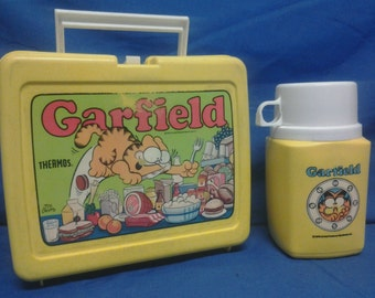 Garfield Lunchbox with Thermos