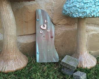 Wooden Fairy Door   U0027Whimsical Love Fairyu0027   Fairies, Tinkerbell, Magic,