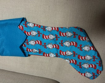 Cat in the hat stocking