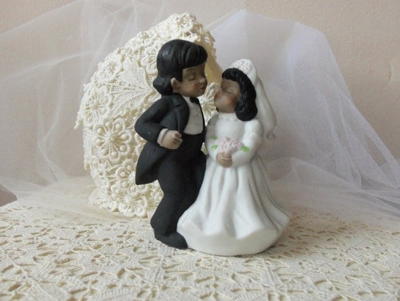 Hispanic Couple Cake Topper Wedding Cake Topper Hispanic