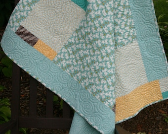 The Ellison Quilt....a handmade baby quilt