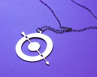 HAWKEYE inspired - necklace - 4 colors available