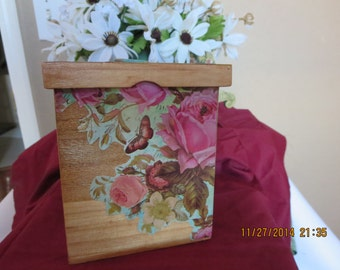 Decorative box, trinket box, keepsake box, memory box