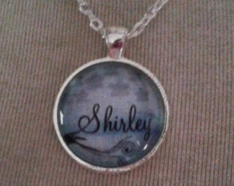 Personalised Name Pendant Necklace - - Personalised Jewellery Personalized Jewelry Gift Present