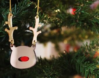 Reindeer Necklace.
