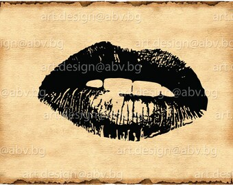 Vector LIPS, Download files, Digital, graphical, AI, eps, PNG, jpg, pdf