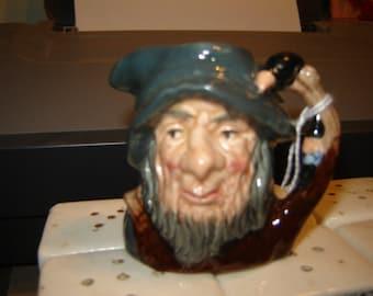 Royal Doulton Rip Van Winkle toby mug mini