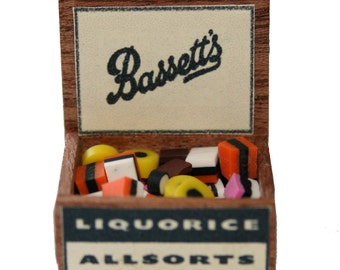 Handmade Allsorts Sweets Display