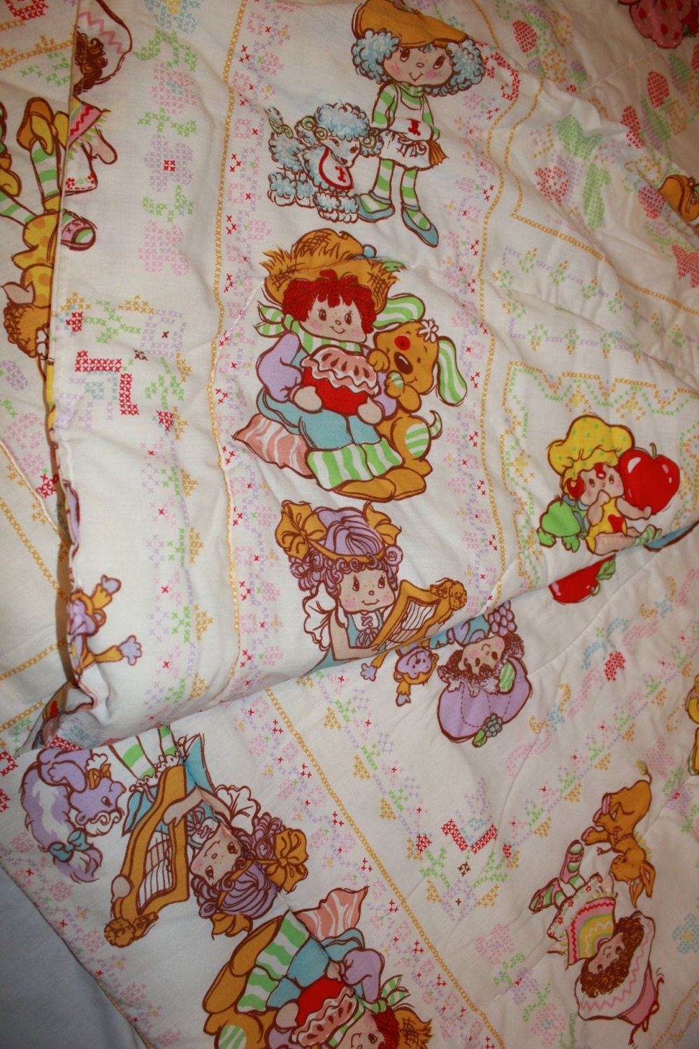 Vintage Strawberry Shortcake Bedding 28