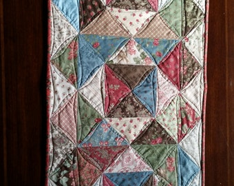 Triangulations Quilted Table Runner