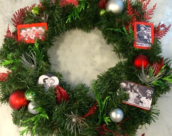 Handmade, One of a Kind, I Love Lucy Christmas Wreath GET IT NOW for the Holiday Season!