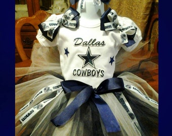 Dallas Cowboys tutu set