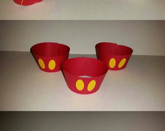 Mickey Mouse Cupcake Holders