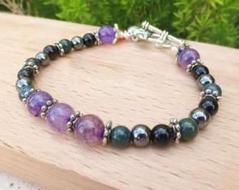 Fertility Bracelet for Fibroids, comes with your choice of fertility charm